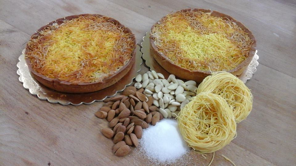 Tagliatelle cake